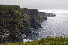 Cliffs of moher in Clare co., Ireland Stock Image