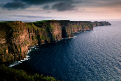 Cliffs of Moher in Clare county Stock Images