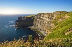 The Cliffs of Moher. County Clare, Ireland Royalty Free Stock Photo