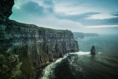 Cliffs of Moher. Taken in 2015 Royalty Free Stock Image