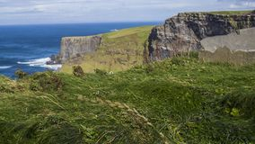 Cliffs of Moher. Where the sea meet rocks - Ireland Stock Photos