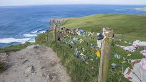 Cliffs of Moher. Where the sea meet rocks - Ireland Royalty Free Stock Image