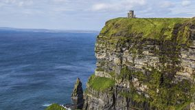 Cliffs of Moher. Where the sea meet rocks - Ireland Royalty Free Stock Photos