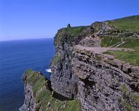 Cliffs of Moher Co. Clare Ireland Royalty Free Stock Photos