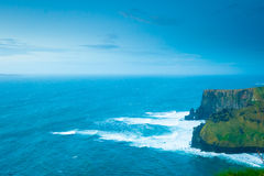 Cliffs of Moher in Co. Clare Ireland Europe. Stock Image