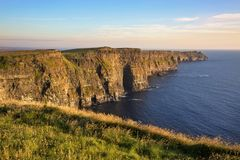 The Cliffs of Moher. County Clare, Ireland royalty free stock photography