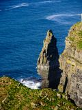 Cliffs of Moher in County Clare Stock Photos