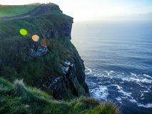 Cliffs of Moher in County Clare Royalty Free Stock Images