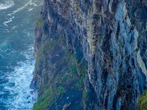 Cliffs of Moher in County Clare Royalty Free Stock Photos