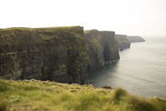 Cliffs of Moher in County Clare. Stock Photo
