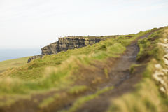 Cliffs of Moher in County Clare. Royalty Free Stock Photography
