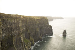 Cliffs of Moher in County Clare. Royalty Free Stock Photos