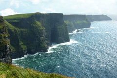 Cliffs of Moher in County Clare, Ireland Stock Images