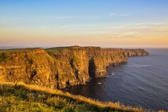 The Cliffs of Moher. County Clare, Ireland Stock Image