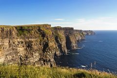 The Cliffs of Moher royalty free stock photo