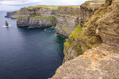Cliffs of Moher in County Clare, Ireland Royalty Free Stock Image