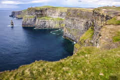 Cliffs of Moher in County Clare, Ireland Stock Photos
