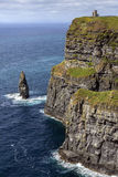 Cliffs of Moher - County Clare - Ireland Royalty Free Stock Photography