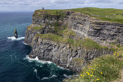 Cliffs of Moher - County Clare - Ireland Stock Image