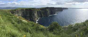 Cliffs of Moher - County Clare - Ireland Royalty Free Stock Images