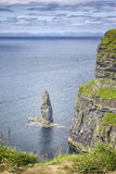 Cliffs of moher. An image of the famous Cliffs of Moher in Ireland Stock Photography