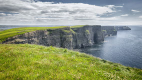 Cliffs of moher. An image of the famous Cliffs of Moher in Ireland Stock Image
