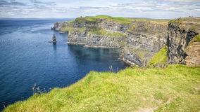Cliffs of moher. An image of the famous Cliffs of Moher in Ireland Royalty Free Stock Images