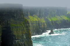 Cliffs of Moher Ireland Stock Image