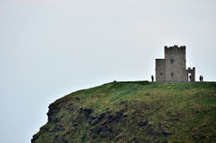 Cliffs of Moher, Ireland. The Cliffs of Moher are located in the parish of Liscannor at the south-western edge of the Burren area near Doolin, which is located Stock Images