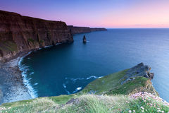 Cliffs of Moher in Ireland Stock Image