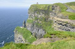 Cliffs of Moher (Ireland) Royalty Free Stock Photo