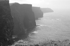 Cliffs of Moher (Ireland) Royalty Free Stock Images