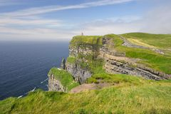 Cliffs of Moher (Ireland) Stock Photo