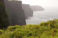 Cliffs of Moher (Ireland) Stock Photos