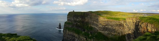 Cliffs of Moher. In Ireland Royalty Free Stock Image