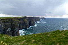 Cliffs of Moher. In Ireland Stock Photography