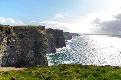Cliffs of Moher. In Ireland Royalty Free Stock Photos