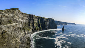 Cliffs of Moher, Ireland. The famous Cliffs of Moher, County Clare, Ireland Royalty Free Stock Images