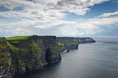 The cliffs of Moher, Ireland Stock Photo