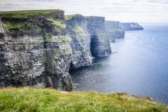 Cliffs of Moher Ireland. An image of the Cliffs of Moher in Ireland Stock Images