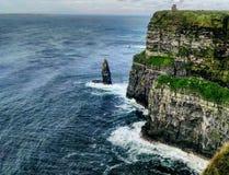Cliffs of Moher. Ireland Irlande tourism tourisme cliffs falaise doolin ocean Atlantic Stock Photo