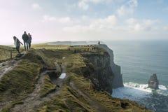 Cliffs of Moher - Ireland Stock Photo