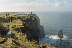 Cliffs of Moher - Ireland Stock Image