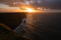 Cliffs of Moher, Ireland Royalty Free Stock Photography