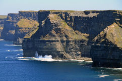 Cliffs of Moher scenery Stock Photo