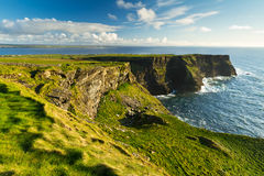 Cliffs of Moher scenery. Cliffs of Moher in Co. Clare, Ireland Stock Photos