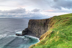 Cliffs of moher at sunsetin in west Ireland Stock Images