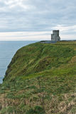 Cliffs of Moher tower Royalty Free Stock Photos
