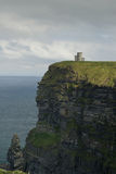 Cliffs of Moher in vertical position, Ireland Royalty Free Stock Photo