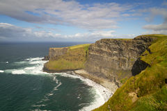 Cliffs of Moher view Stock Photography